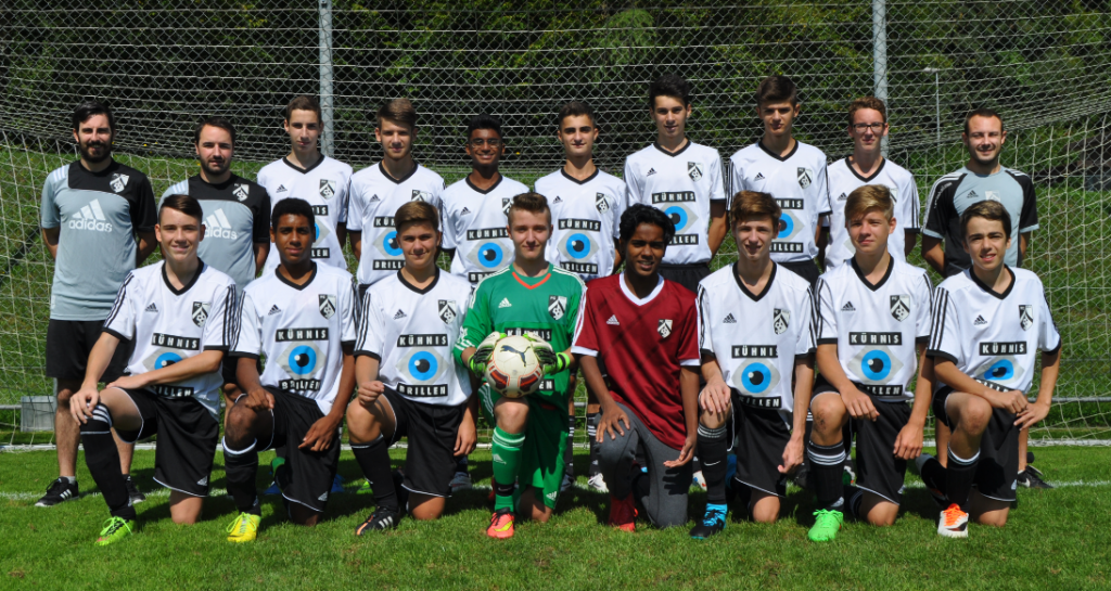 B-Junioren Saison 2015/2016