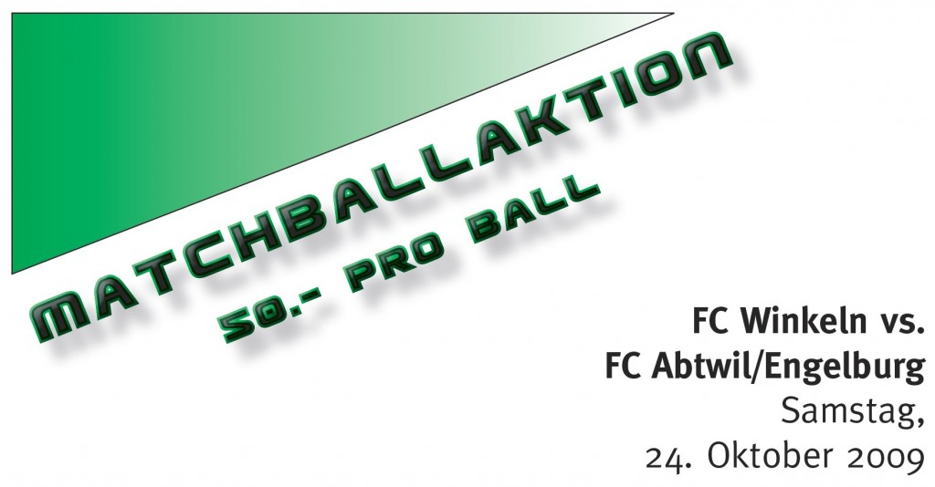 Matchball-Aktion