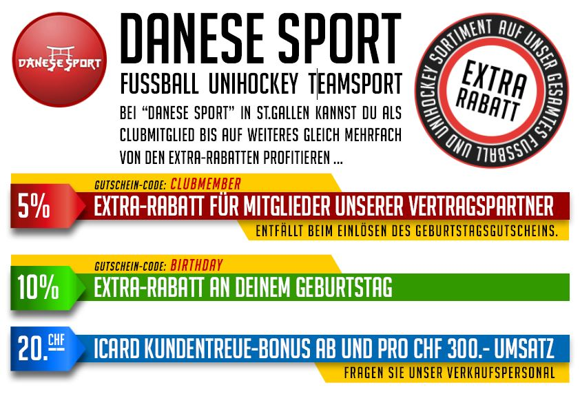 Danese Sport - Rabatt