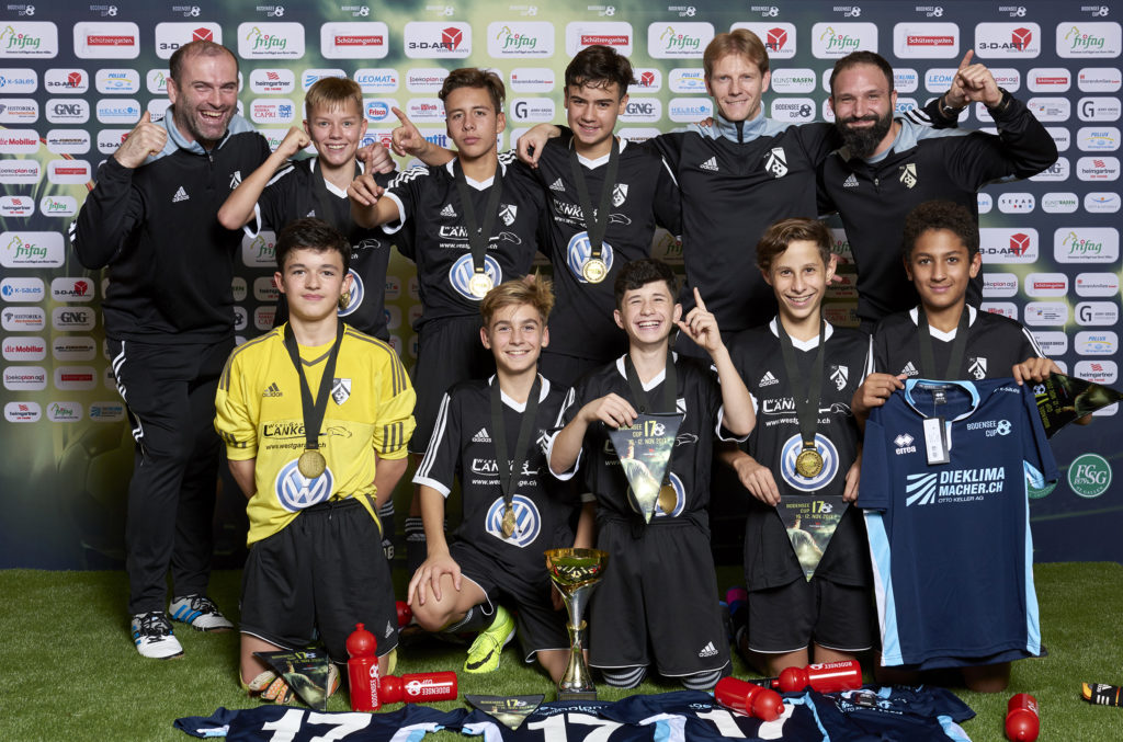 C-Junioren: Turniersieg am Bodensee-Cup