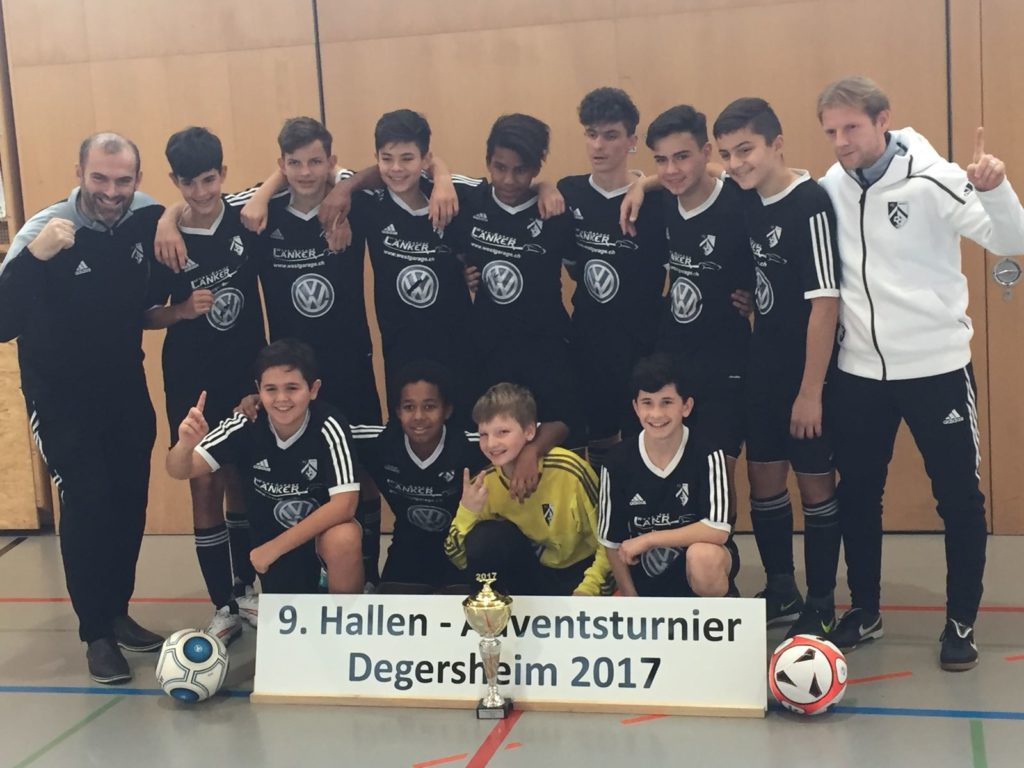 C-Junioren: 1. Platz in Degersheim